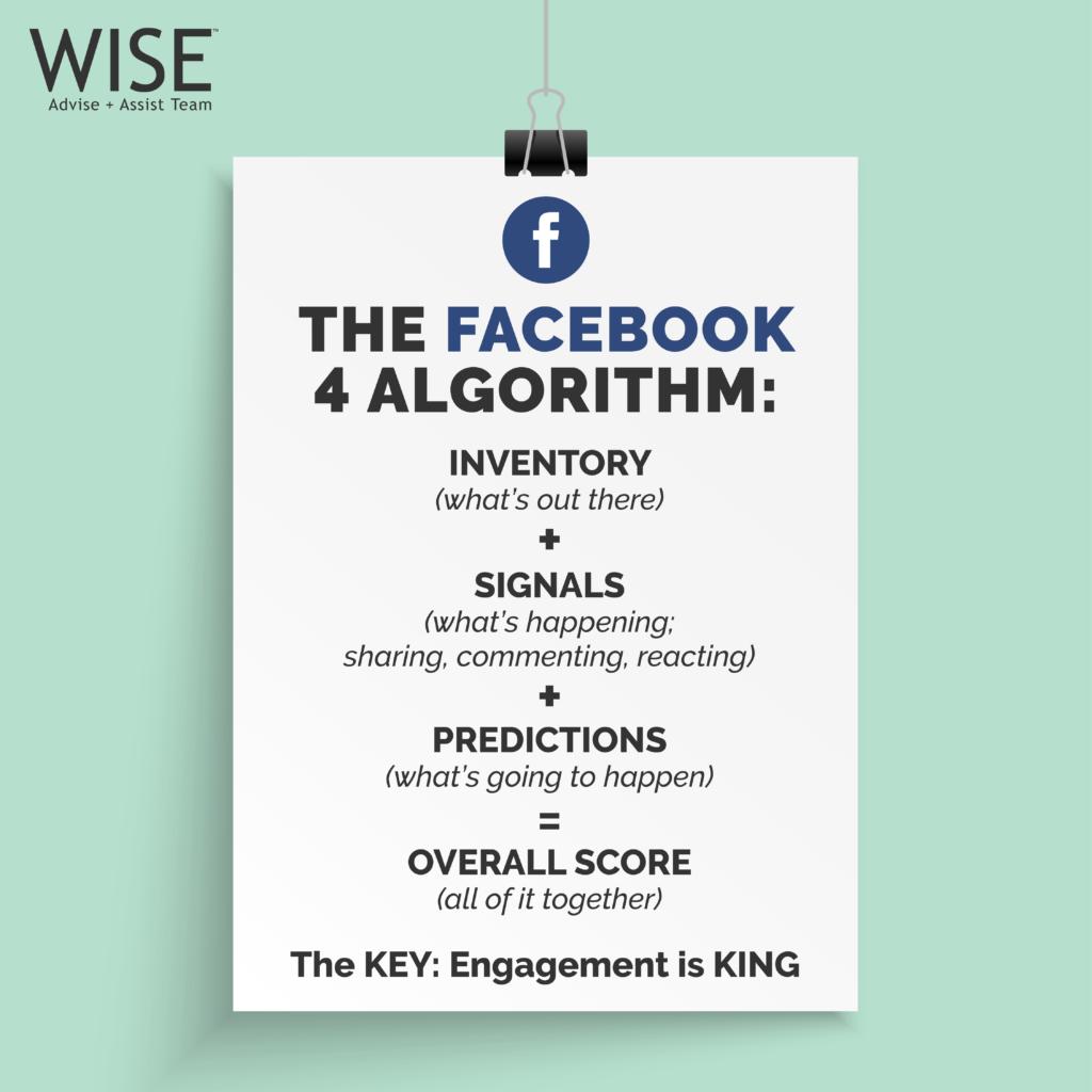 Social Media 2019 Algorithm Crash Course | WISE Advise +
